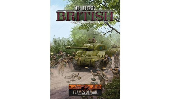 Flames of War Flames of War Book: D-Day British Forces in Normandy