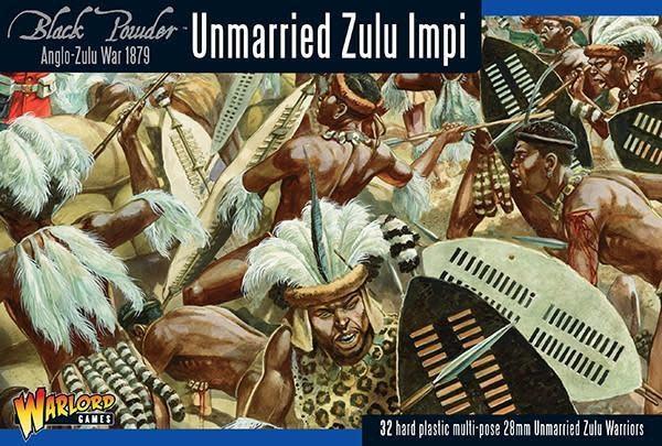 Warlord games Black Powder: Unmarried Zulu Impi (1879)