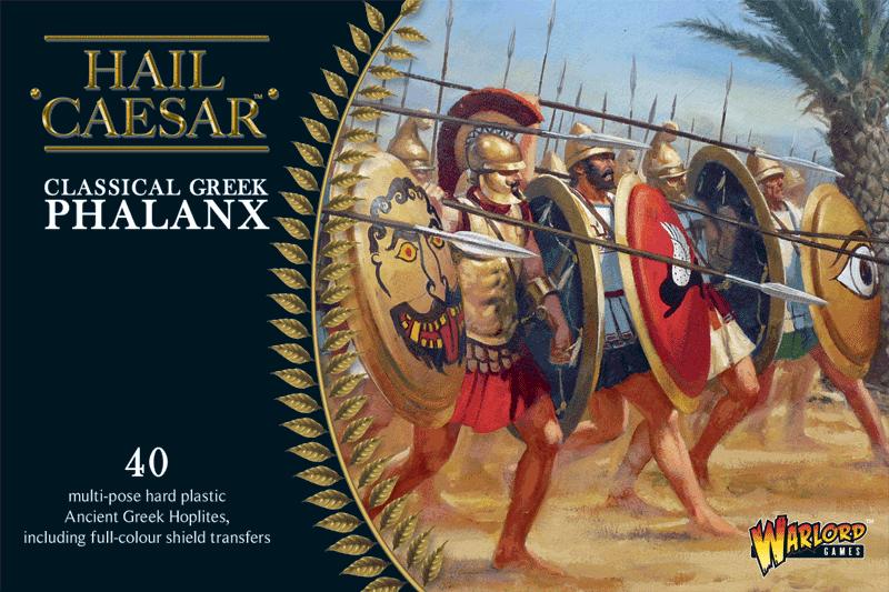 Warlord games Hail Caesar: Classical Greek Phalanx