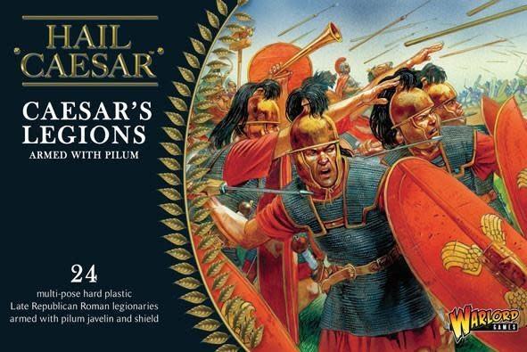 Warlord games Hail Caesar: Caesars Legions Armed with Pilum