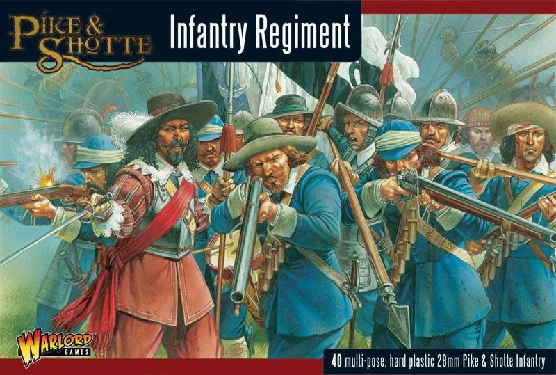 Warlord games Pike & Shotte: Infantry Regiment