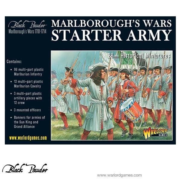 Warlord games Black Powder: Marlborough's War Starter Army