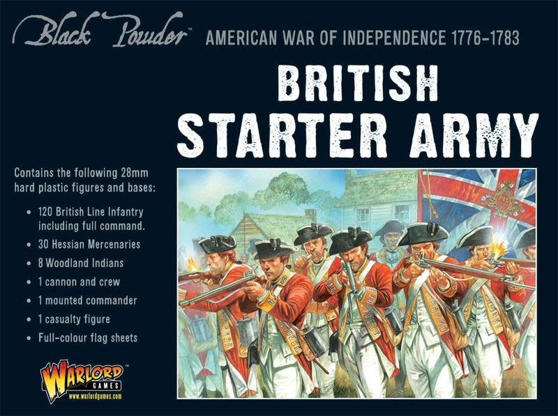 Warlord games Black Powder: British Starter Army  (1776-1783)