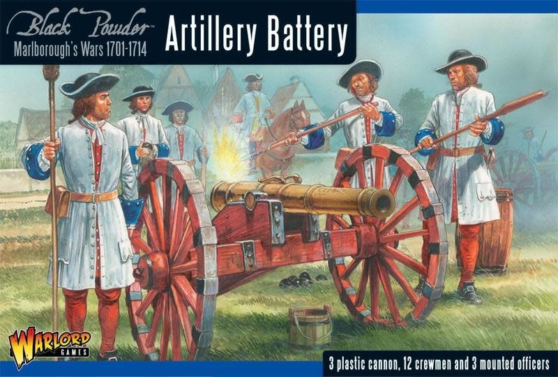 Warlord games Black Powder: Artillery Battery (1701-1714)