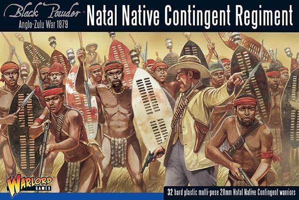 Warlord games Black Powder: Natal Native Contingent Regiment (1879)