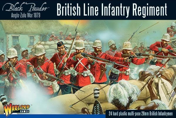 Warlord games Black Powder: British Line Infantry Regiment