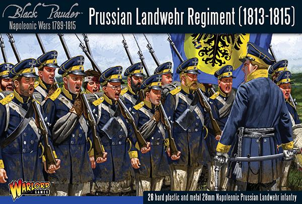 Warlord games Black Powder: Prussian Landwehr Regiment (1813-1815)