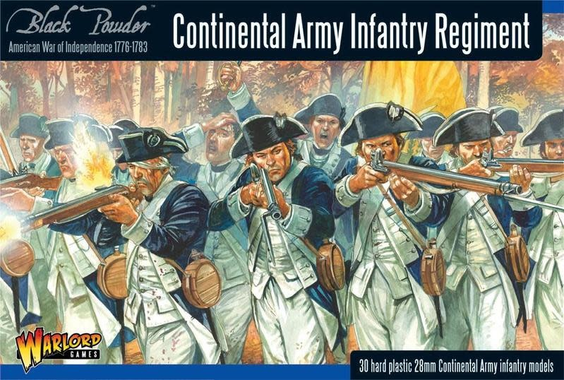 Warlord games Black Powder: Continental Infantry Regiment (1716-1783)