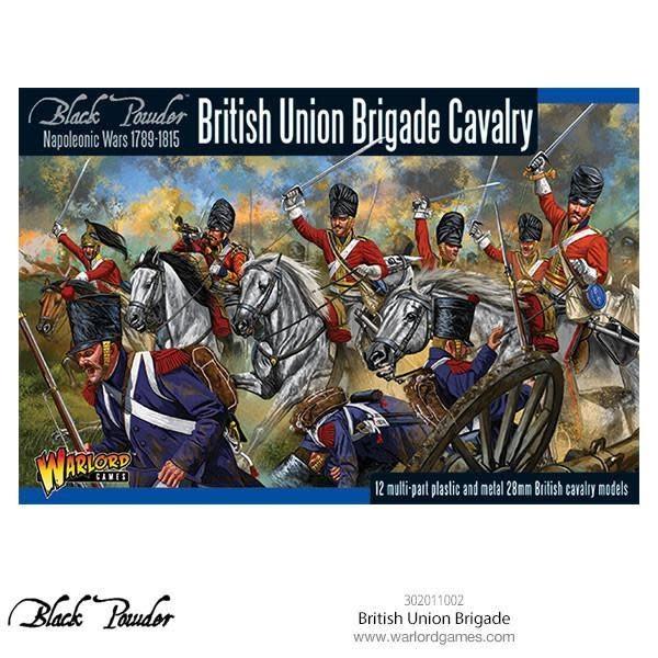 Warlord games Black Powder: British Union Brigade Cavalry (1789-1815)