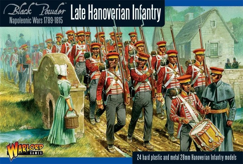 Warlord games Black Powder: Late Hanoverian Infantry (1789-1815)