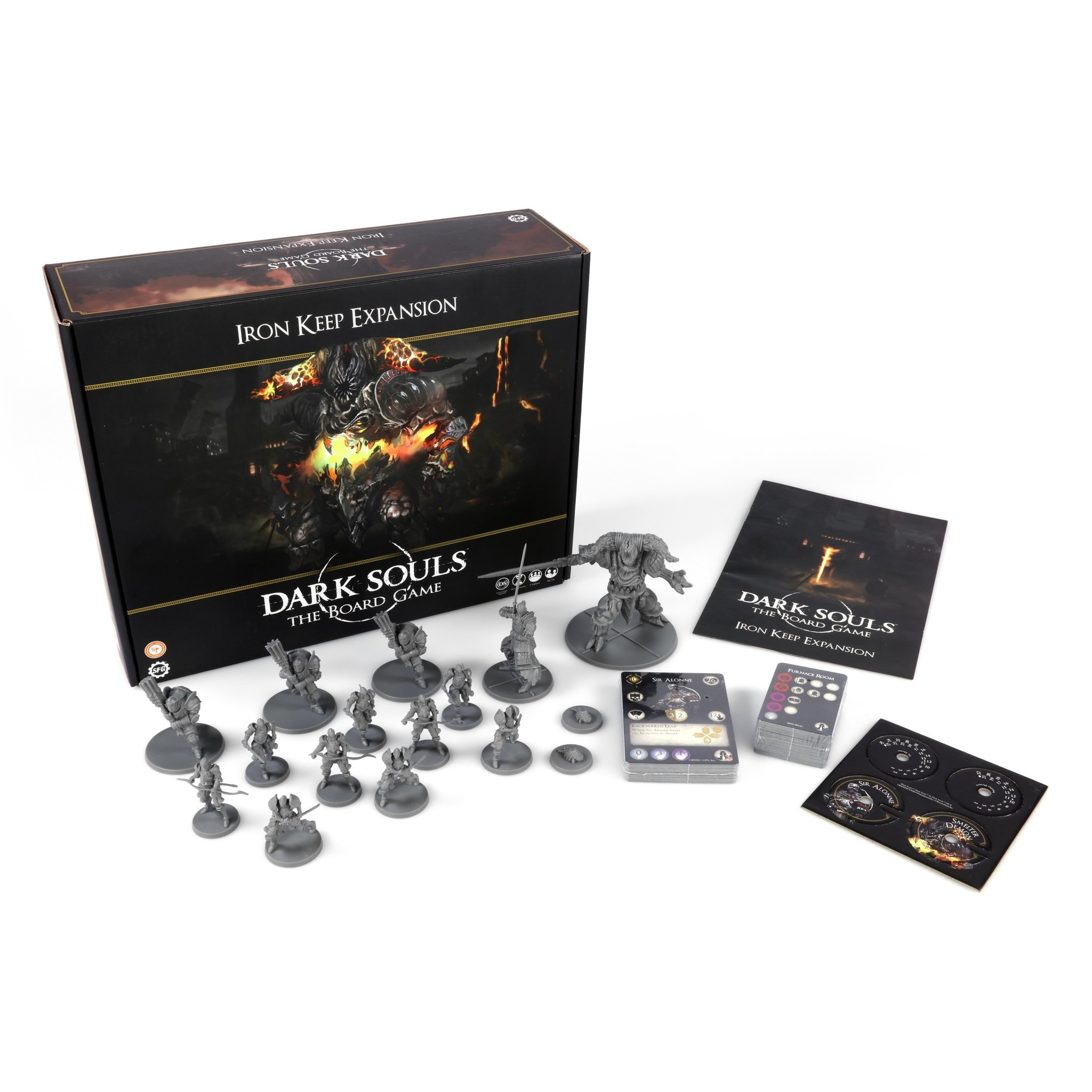 Steamforged Dark Souls board game: Iron Keep Expansion