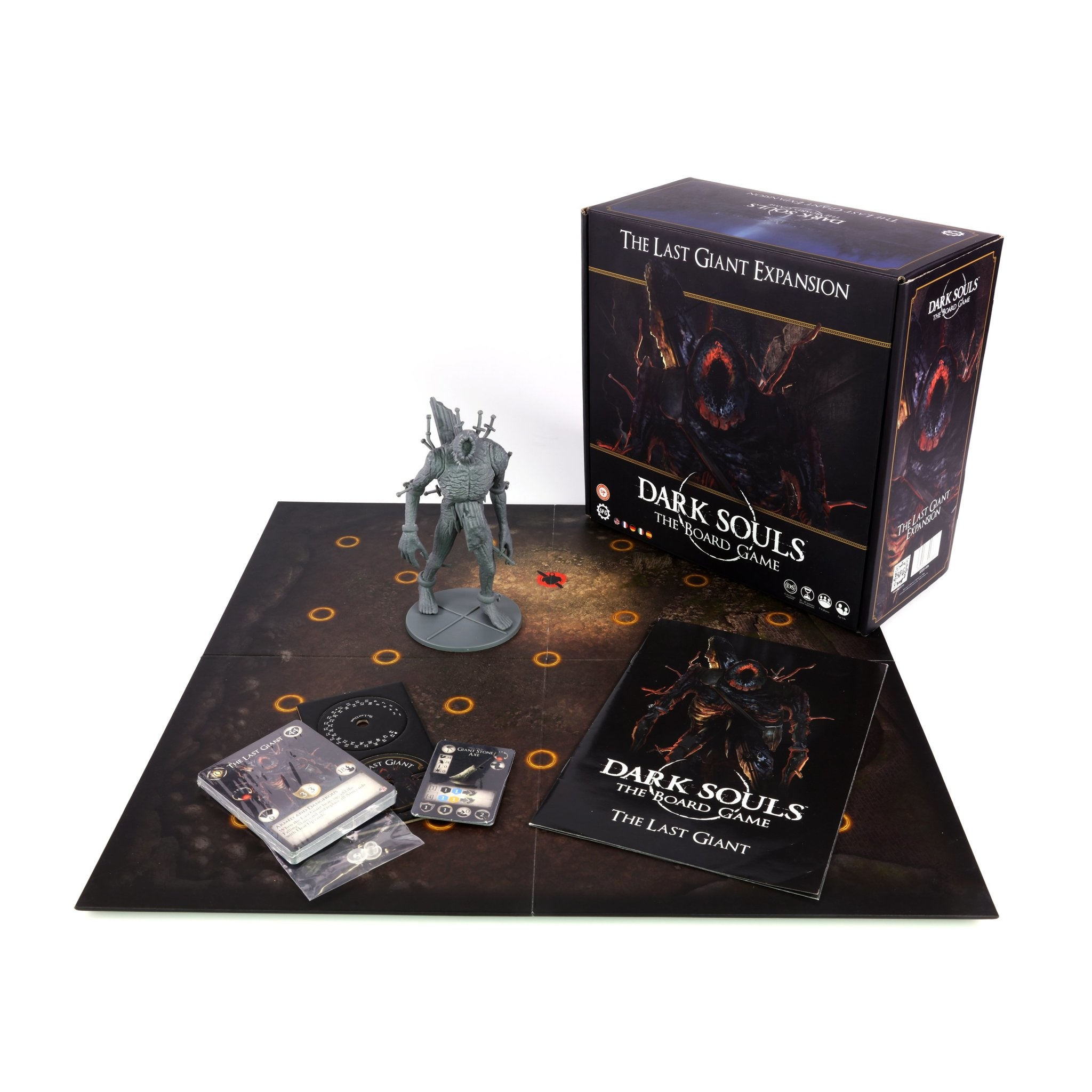 Steamforged Dark souls board game: The Last Giant
