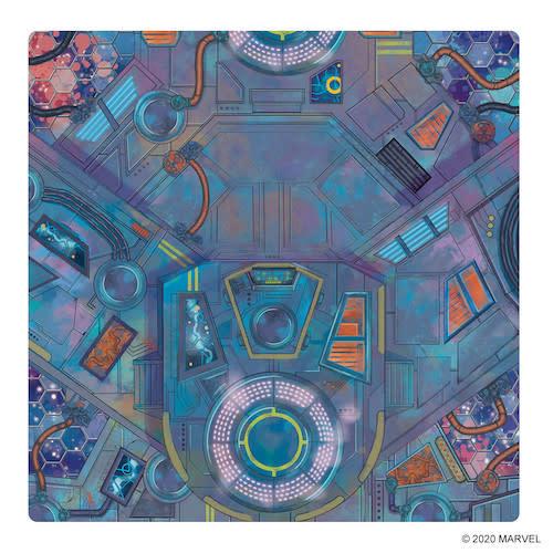 Atomic Mass Games Marvel Crisis Protocol: Spaceport Showdown Playmat
