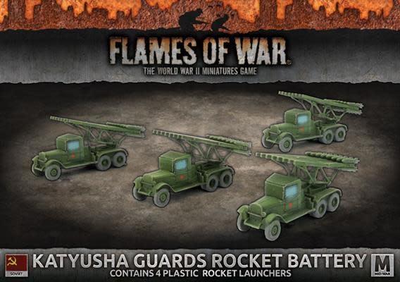 Flames of War Flames of War: Soviet- Katyusha Guards Rocket Battery (mid)
