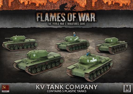 Flames of War Flames of War: Soviet- KV Tank Company