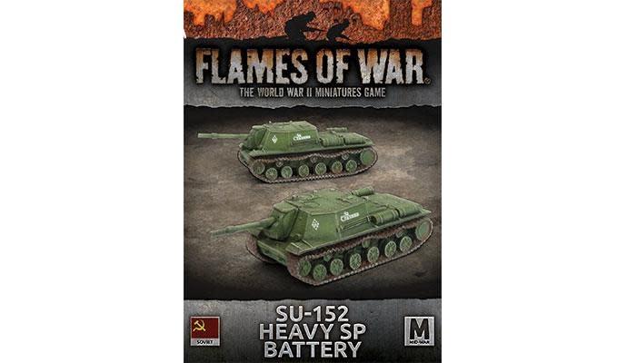 Flames of War Flames of War: Soviet- SU-152 Heavy Sp Battery (mid)
