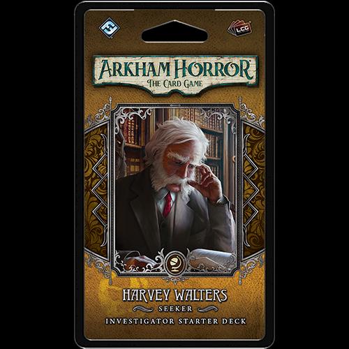 Fantasy Flight Arkham horror LCG: Harvey Walters Investigator