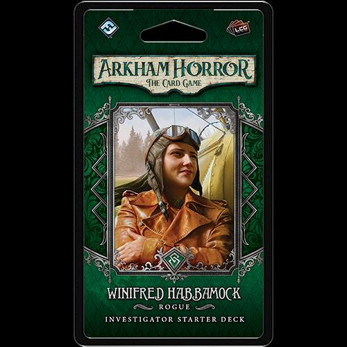 Fantasy Flight Arkham horror LCG: Winifred Habbamock Investigator