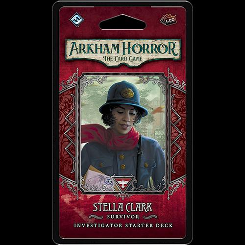 Fantasy Flight Arkham Horror LCG: Stella Clark Investigator
