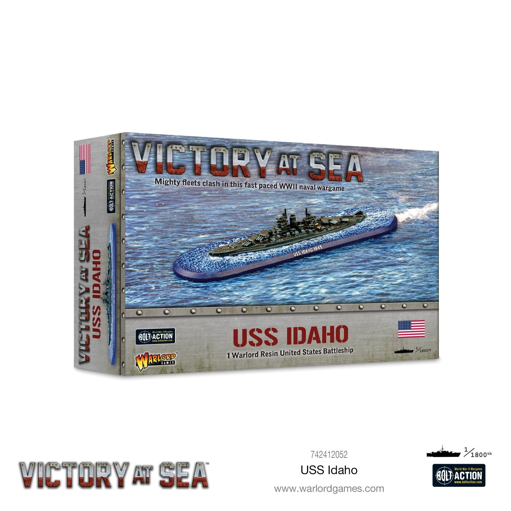 Warlord games Victory at Sea: USS Idaho- American