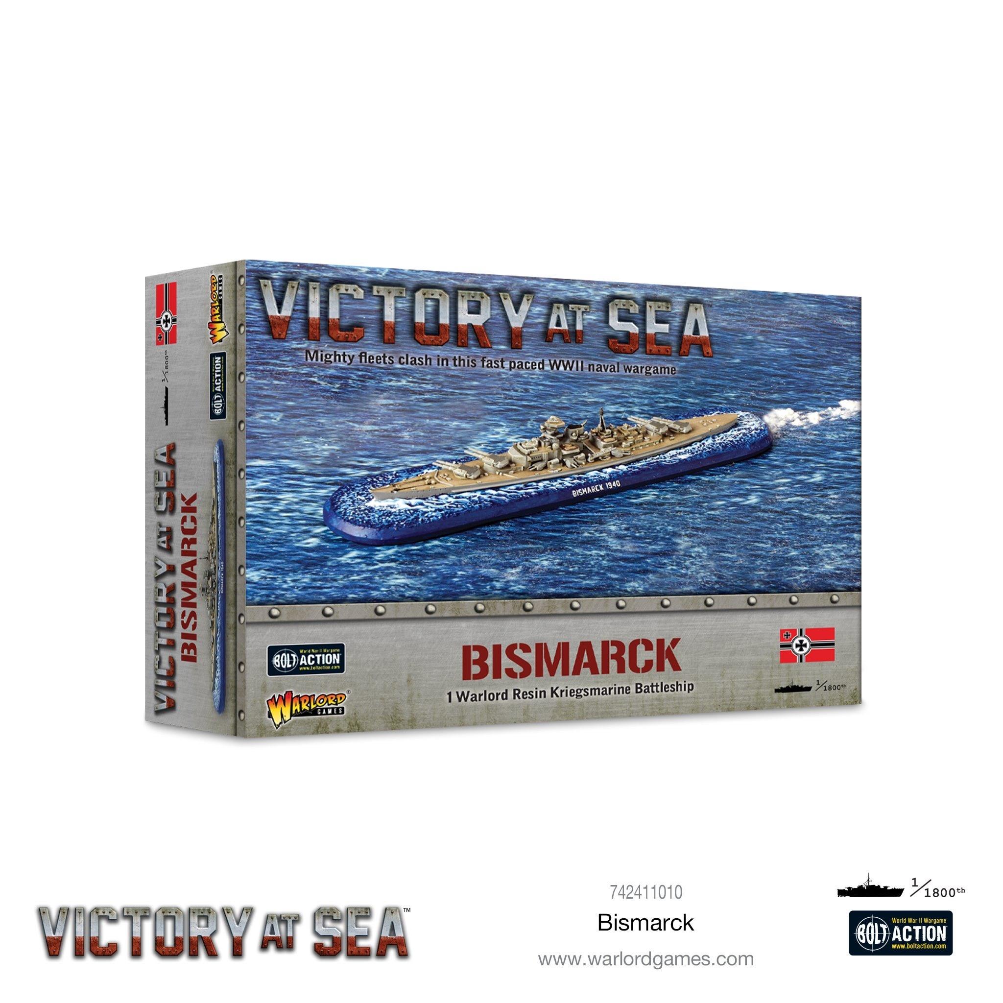 Warlord games Victory at Sea: Bismark- German