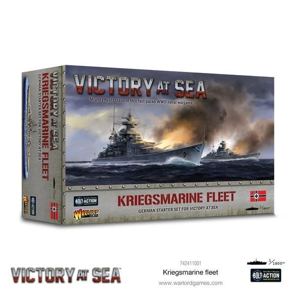 Warlord games Victory at Sea: Kriegsmarine Fleet- German