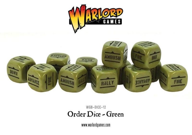 Warlord games Bolt Action: Action Dice - Green