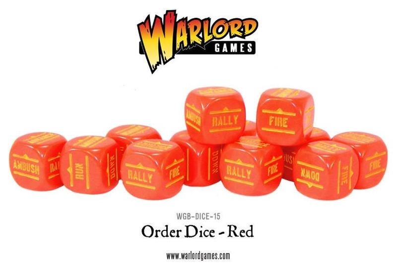 Warlord games Bolt Action: Action Dice - Red