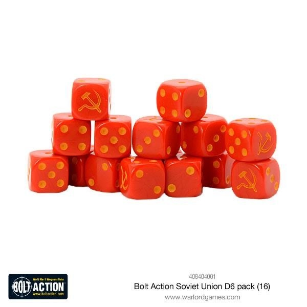 Warlord games Bolt Action: Soviet- Union Dice pack