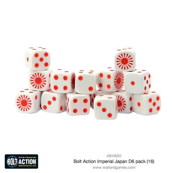 Warlord games Bolt Action: Imperial Japanese- Dice pack