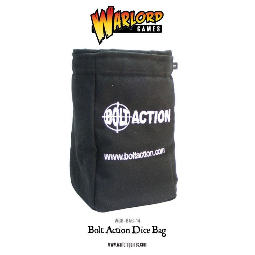 Warlord games Bolt Action: Dice Bag with Dice