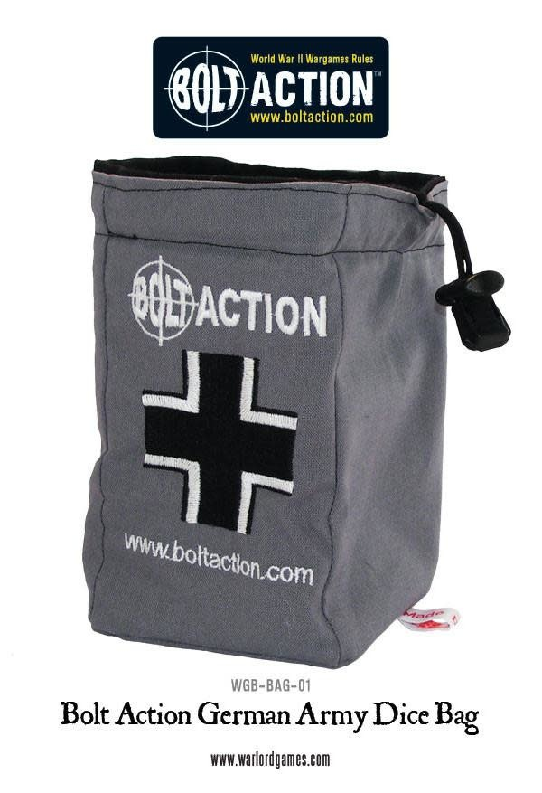 Warlord games Bolt Action: German- Dice Bag & Acgtion Dice