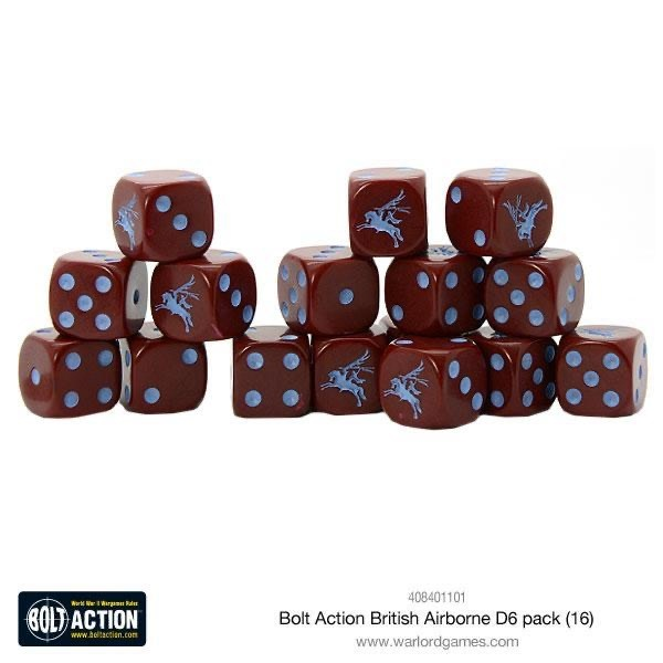 Warlord games Bolt Action: British- Airborne Dice Pack