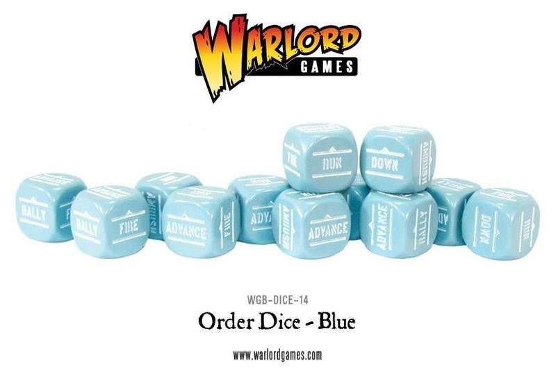 Warlord games Bolt Action: Action Dice - Blue