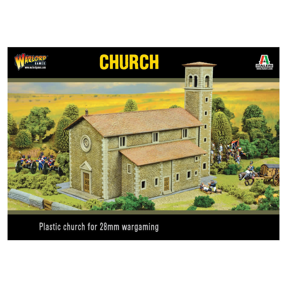 Warlord games Bolt action Terrain: Church 28mm