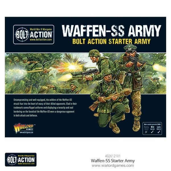 Warlord games Bolt Action: German- Waffen SS Starter Army