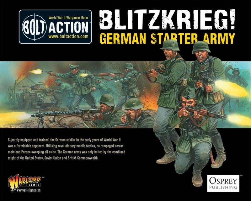 Warlord games Bolt Action: German- Blitzkrieg! starter army