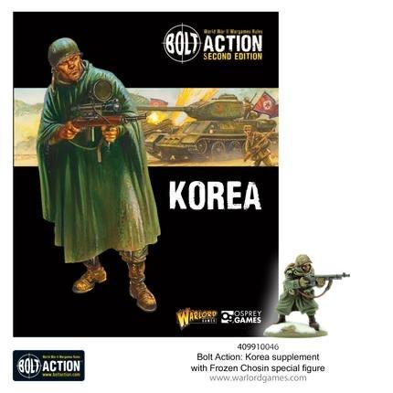 Warlord games Bolt Action: Korea Book