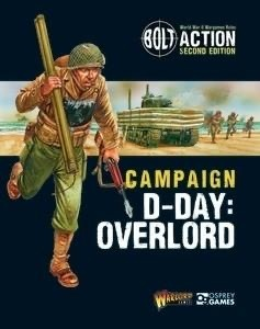 Warlord games Bolt action: Campaign- D-Day Overlord Book