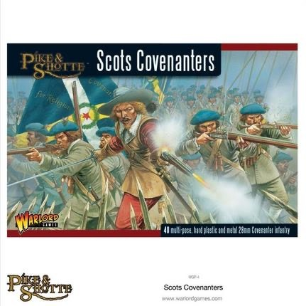 Warlord games Pike & Shotte: Scots Covenanters
