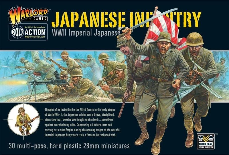 Warlord games Bolt Action: Japanese- Infantry