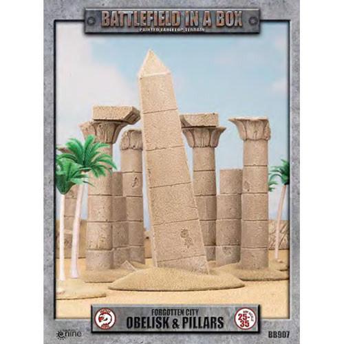 Battlefield in a Box Battlefield in a Box: Forgotten City, Obelisk & Pillars