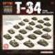 Flames of War Flames of War: Soviet- T-34 Tank Battalion