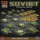 Flames of War Flames of War: Soviet- Heavy Assault Group Starter Force (late)