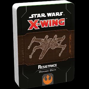 Fantasy Flight Star Wars X-Wing: Resistance Damage Deck
