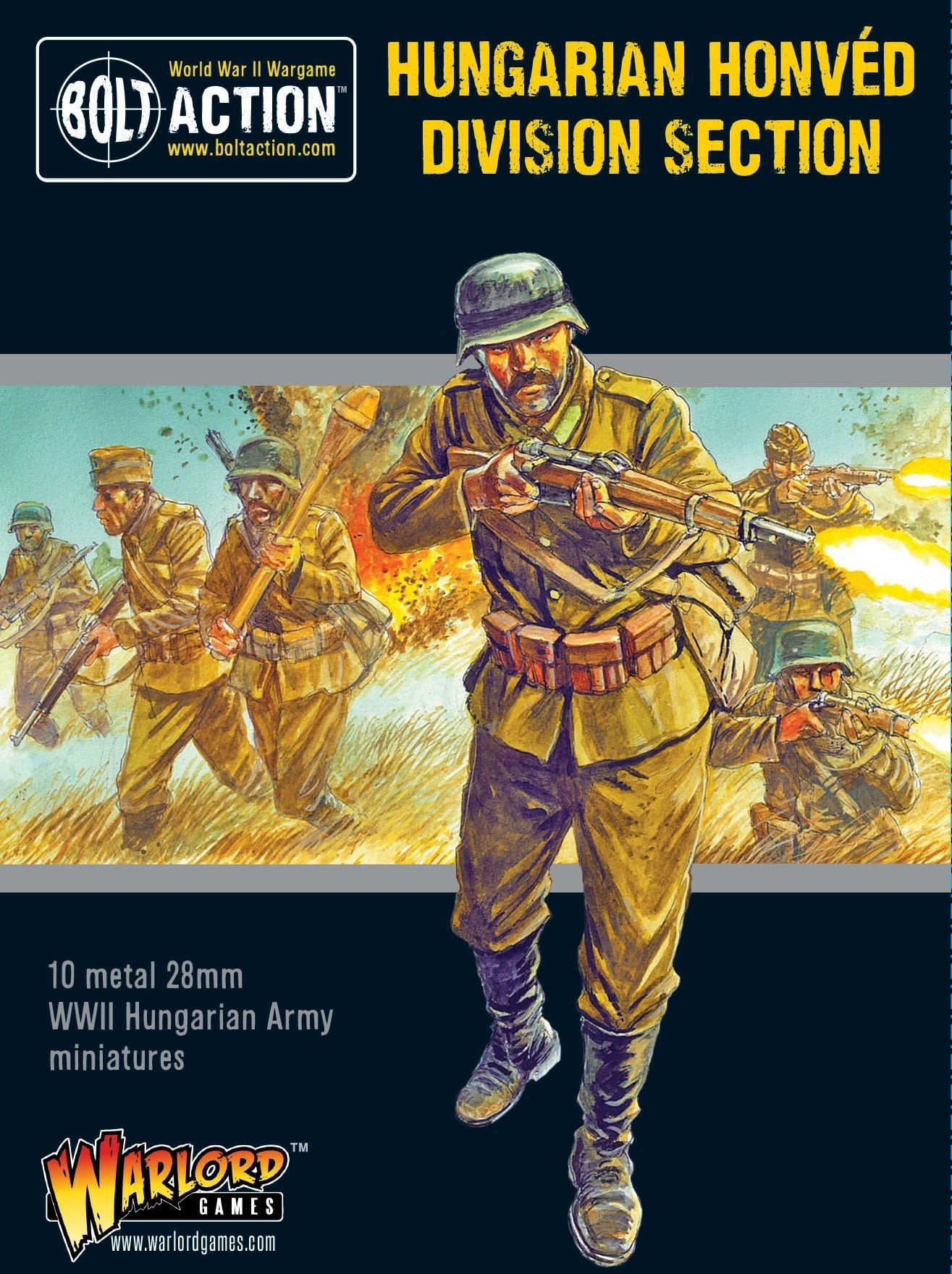 Warlord games Bolt Action: Hungarian- Honved Division Section