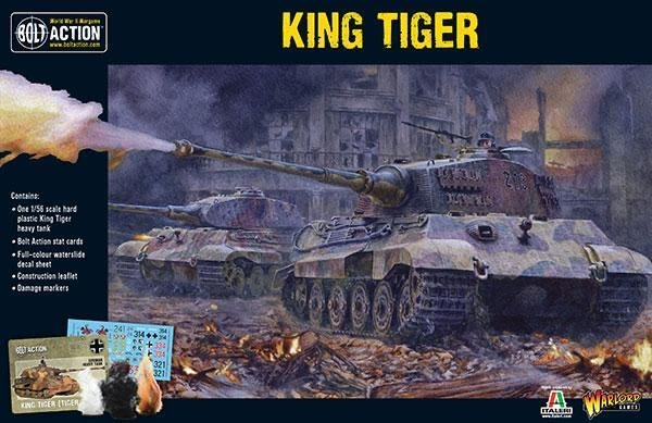 Warlord games Bolt Action: German- King Tiger Tank