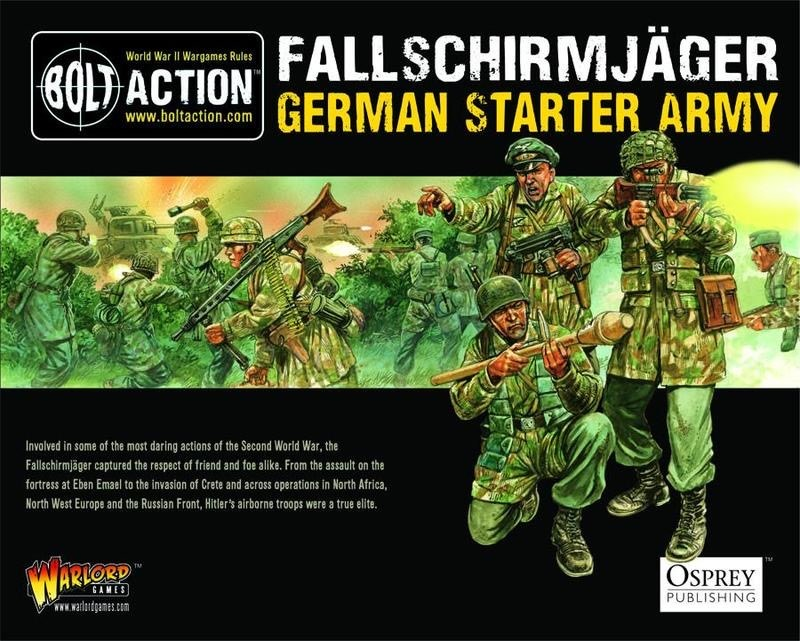 Warlord games Bolt Action: German- Fallschirmjager starter set