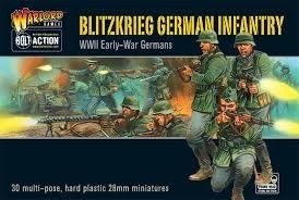 Warlord games Bolt Action: German- Blitzkrieg Infantry