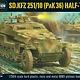 Warlord games Bolt Action: German- SD KFZ 251/10 (PaK 36) Half-Track